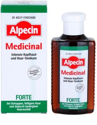 Alpecin Medicinal Forte intensives Tonikum gegen Schuppen und Haarausfall 1