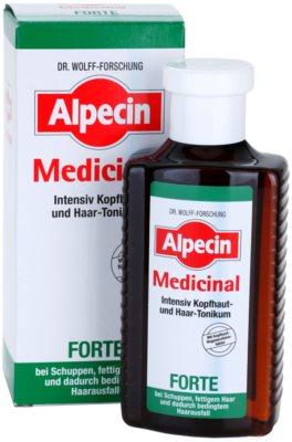 Alpecin Medicinal Forte tónico intensivo anticaspa y anticaída 2