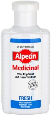 Alpecin Medicinal Fresh tonik odświeżający do tłustej skóry głowy