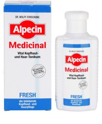 Alpecin Medicinal Fresh tónico refrescante para cuero cabelludo graso 1