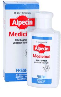 Alpecin Medicinal Fresh tónico refrescante para cuero cabelludo graso 2
