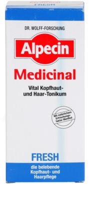 Alpecin Medicinal Fresh tónico refrescante para cuero cabelludo graso 3