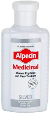 Alpecin Medicinal Silver тоник за коса неутрализиращ жълтеникавите оттенъци