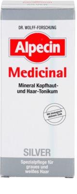 Alpecin Medicinal Silver das Haartonikum neutralisiert gelbe Verfärbungen 3