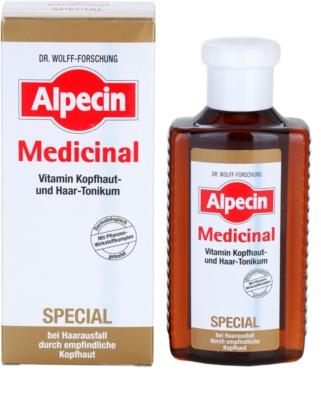 Alpecin Medicinal Special hajhullás elleni tonik érzékeny fejbőrre 1