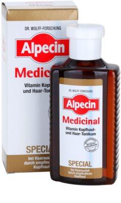 Alpecin Medicinal Special hajhullás elleni tonik érzékeny fejbőrre 2