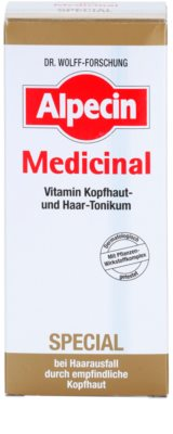 Alpecin Medicinal Special hajhullás elleni tonik érzékeny fejbőrre 3