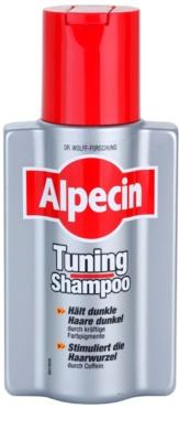 Alpecin Tuning Shampoo тониращ шампоан за първите сиви коси