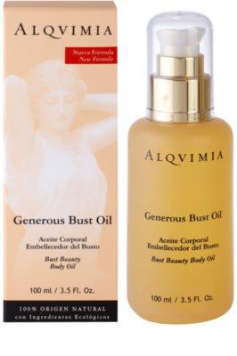 Alqvimia Decollete & Bust Öl zur Brustvergrößerung 1