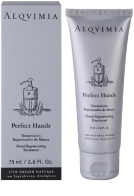 Alqvimia Hand & Nail Care creme regenerador   para mãos e unhas 1