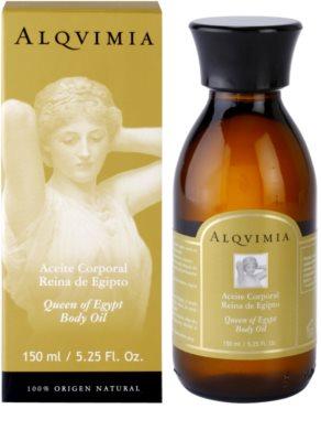 Alqvimia Queen Of Egypt testápoló olaj ránctalanító hatással 1