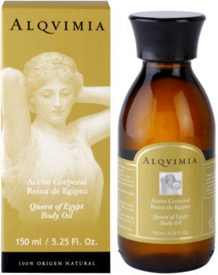 Alqvimia Queen Of Egypt aceite corporal con efecto antiarrugas 1