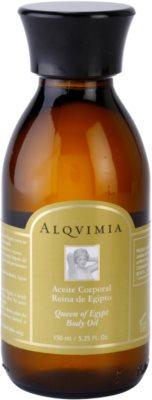 Alqvimia Queen Of Egypt testápoló olaj ránctalanító hatással