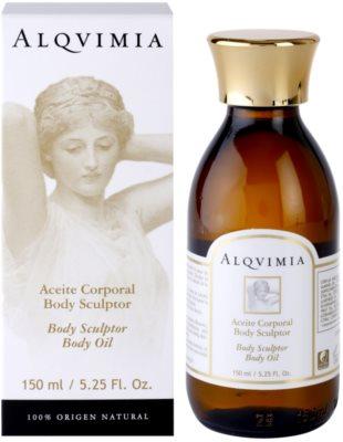 Alqvimia Silhouette oblikovalno olje za telo 1