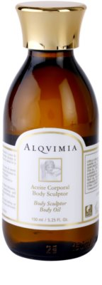 Alqvimia Silhouette оформящо масло за тяло