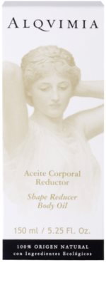 Alqvimia Silhouette Körperöl zur Fettreduktion 2