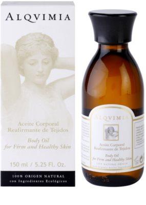 Alqvimia Silhouette festigendes Körperöl für junge und gesunde Haut 1