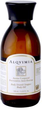 Alqvimia Silhouette tělový olej proti striím