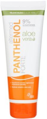 Altermed Panthenol Forte lotiune de corp cu aloe vera