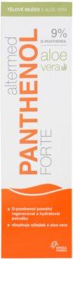 Altermed Panthenol Forte leite corporal com aloe vera 2
