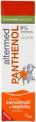 Altermed Panthenol After Sun tělové mléko s rakytníkem 2