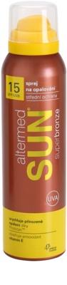 Altermed Sun SuperBronze napozó spray SPF 15