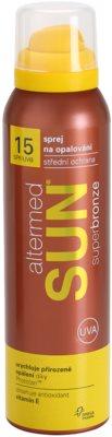 Altermed Sun SuperBronze Sonnenspray SPF 15