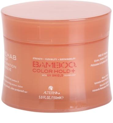 Alterna Bamboo Color Hold+ intensive hydratisierende Maske   für gefärbtes Haar