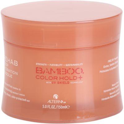 Alterna Bamboo Color Hold+ máscara hidratante intensiva para cabelo pintado