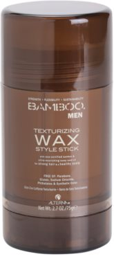 Alterna Bamboo Men cera modeladora em stick