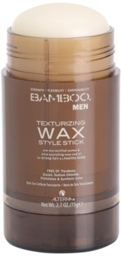 Alterna Bamboo Men ceara de texturare stick 1