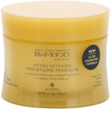Alterna Bamboo Smooth máscara de cuidado intensivo para tratamento químico de cabelo