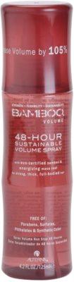 Alterna Bamboo Volume spray para un volumen abundante