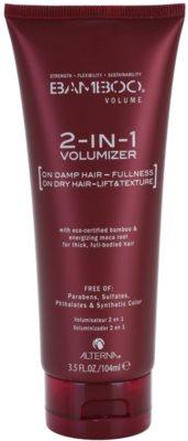 Alterna Bamboo Volume tratamiento para dar definición al peinado para dar volumen y forma