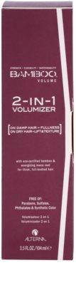 Alterna Bamboo Volume tratamiento para dar definición al peinado para dar volumen y forma 2