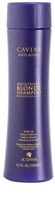 Alterna Caviar Blonde aufhellendes Shampoo für blonde Haare