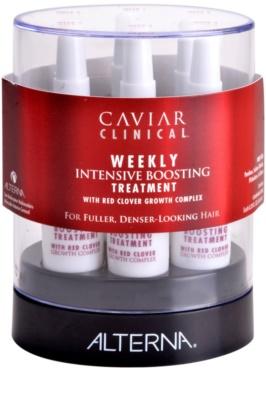 Alterna Caviar Clinical tratamento semanal intensivo para cabelo fino e escasso