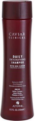 Alterna Caviar Clinical champú desintoxicante para uso diario sin sulfatos