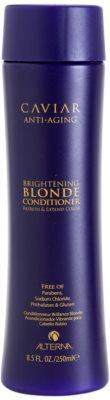 Alterna Caviar Blonde auffrischender Conditioner für blonde Haare