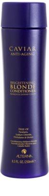 Alterna Caviar Blonde кондиціонер з ефектом сяйва для освітленого волосся