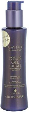 Alterna Caviar Moisture Intense Oil Creme nega pred šamponiranjem za zelo suhe lase
