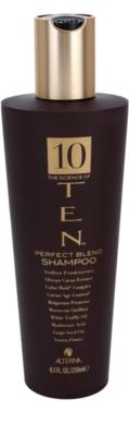 Alterna Ten champôi nutritivo para a reconstrução e fortalecimento do cabelo sem sulfatos