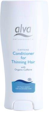 Alva Hair Care acondicionador con cafeína para la pérdida de cabello