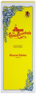 Alvarez Gomez Agua de Colonia Concentrada Eau De Cologne pentru femei 3