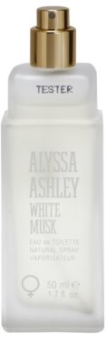 Alyssa Ashley Ashley White Musk eau de toilette teszter nőknek