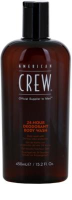 American Crew 24 Hour Gel de banho com efeito desodorizante 24 h