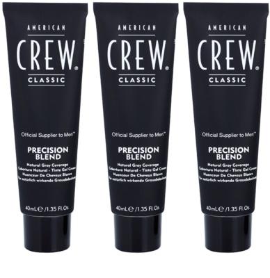 American Crew Classic coloração de cabelo para cabelo cinzento