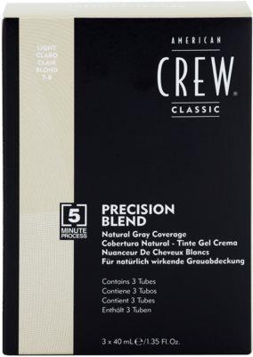 American Crew Classic barva na vlasy pro šedivé vlasy 2