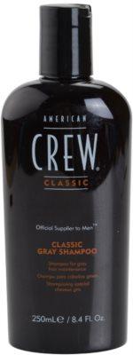 American Crew Classic sampon pentru par grizonat