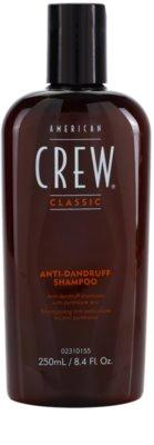 American Crew Classic champú anticaspa con zinc pyrithione
